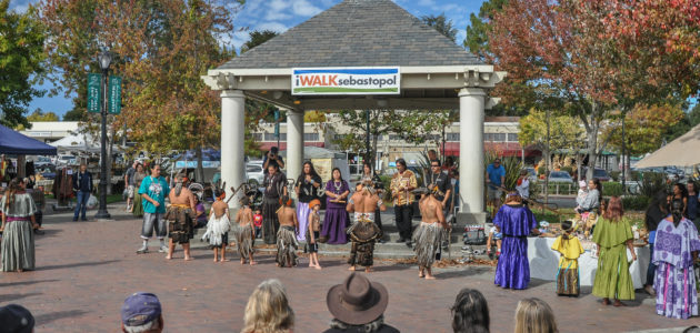 Stanton and Sequoia's Jazz trio will open for the Pomo Dancers Oct. 8th!