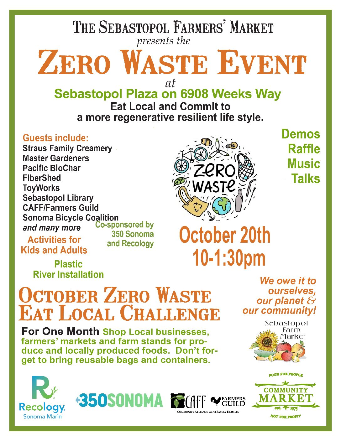 Eat Local Zero Waste Campaign